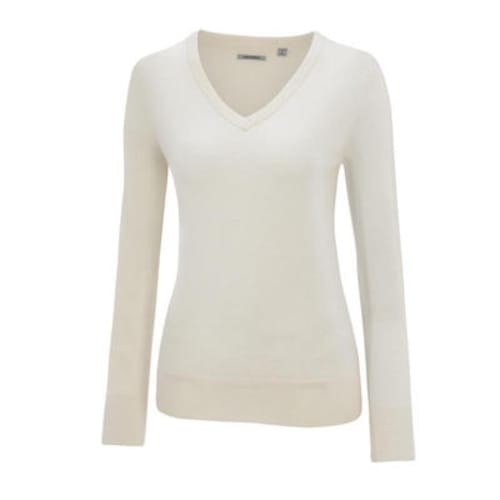 Ashworth Ladies V-Neck Merino