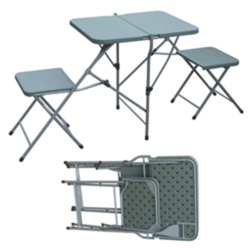 Palm Springs Portable 2 Person Picnic Set Green