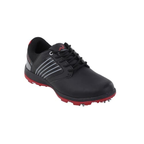 OPEN BOX Woodworm Player V2 Leather Golf Shoes Black