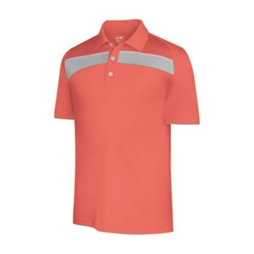 Adidas Mens ClimaCool Piped Print Polo