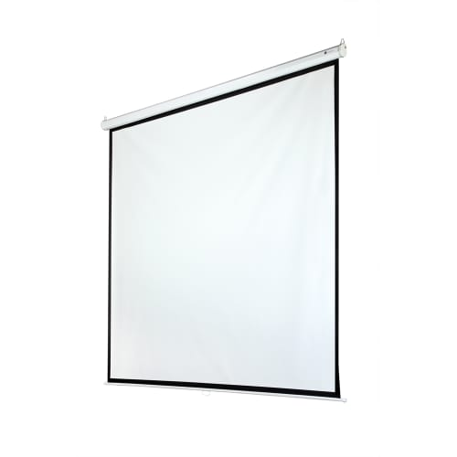 "OPEN BOX Homegear 118"" Manual 1:1 Projector Screen"