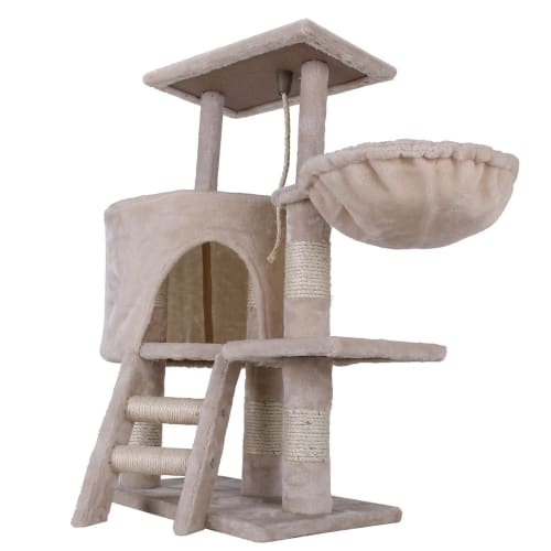 Confidence Pet Deluxe Cat Tree - Beige