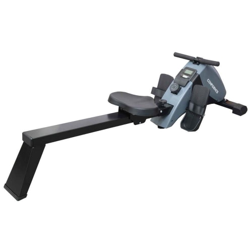 Confidence Fitness Magnetic Rowing Machine with Adjustable Resistance - Foldable - For Home Use