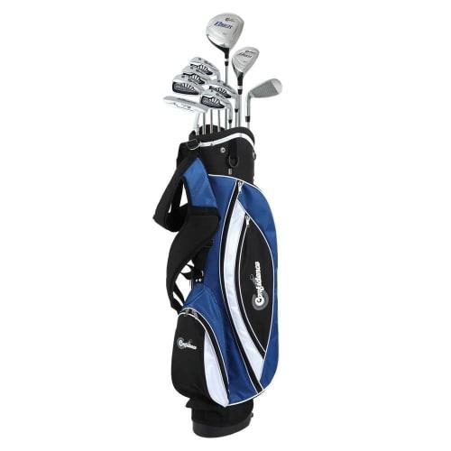 OPEN BOX Confidence Golf Mens Power V3 Club Set and Stand Bag LEFTY