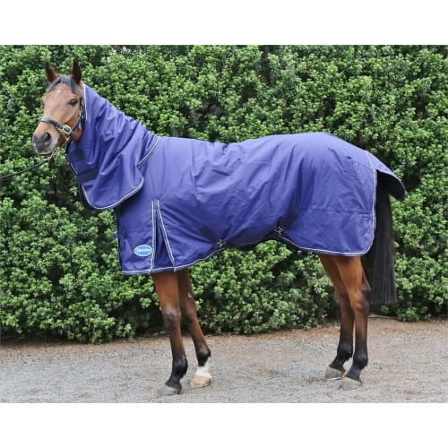 OPEN BOX Barnsby Equestrian Waterproof Horse Winter Blanket/Turnout Rug With Neck Combo