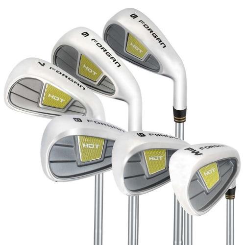 Forgan Golf HDT Iron Set-Standard Lie MRH (5-PW) - Regular Flex & Steel Shaft