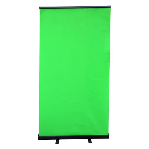 Homegear Pull Up Green Screen, Tall/Standing Style, Collapsible/Pop Up Style