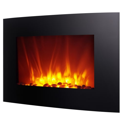 Homegear 1500W Wall Mounted 2-in-1 Electric Fireplace / Heater