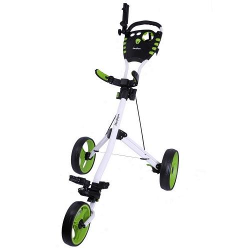 MacGregor Golf VIP 3 Wheel Golf Cart - White/Green