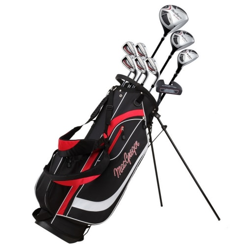 MacGregor Golf CG2000 Golf Club Package Set with Stainless Steel Irons, GRAPHITE/STEEL SHAFTS - Lefty