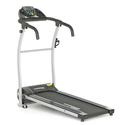 Confidence Fitness TP-1 Electric Treadmill Folding Motorised Running Machine - Black