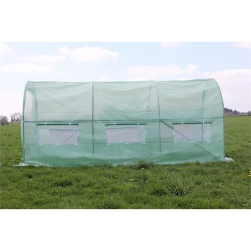 Palm Springs 6.5 x 15ft Polytunnel Greenhouse