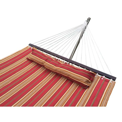 Palm Springs Striped Quilted Hammock
