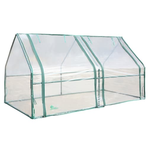 "Palm Springs Gardening Cloche Greenhouse (71"" x 36"" x 36"")"