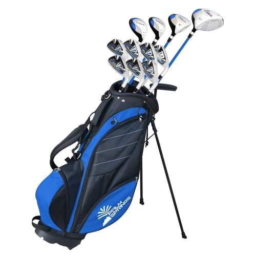 "Palm Springs Visa V2 Mens Tall +1"" Golf Club Set & Bag"