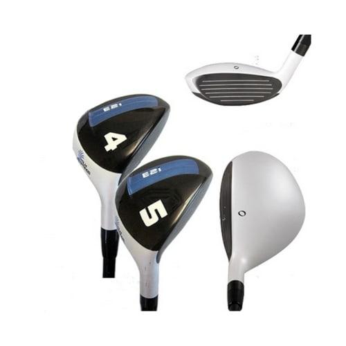 Palm Springs Golf E2i Ladies 4-5 White Hybrid Set, Right Hand, Lady Flex