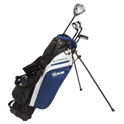 Ram Golf Junior G-Force Boys Golf Clubs Set with Bag Age 4-6