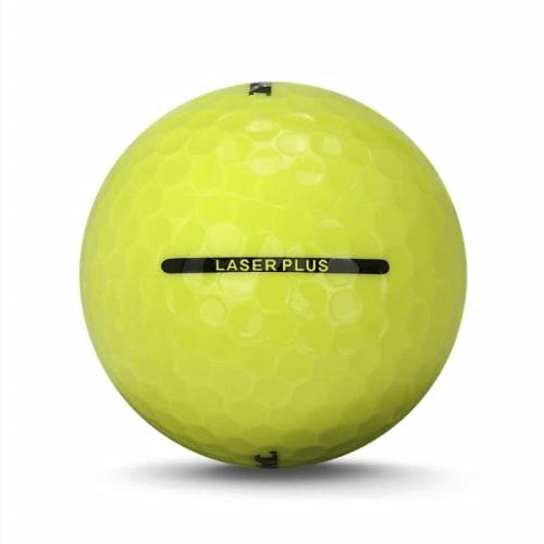 24 RAM Golf Laser Plus Golf Balls - Yellow