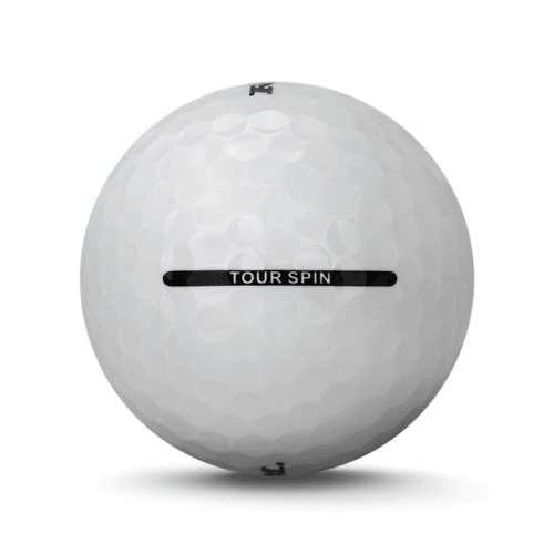 36 RAM Golf Tour Spin 3 Piece Golf Balls - White