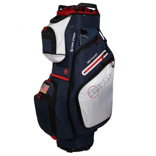 Ram Golf FX Deluxe Golf Cart Bag with 14 Way Dividers - USA