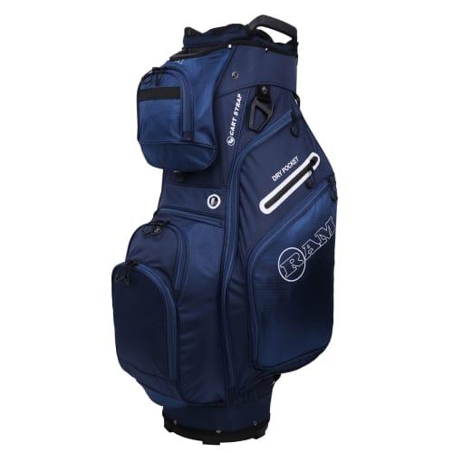 Ram Golf FX Deluxe Golf Cart Bag with 14 Way Dividers Navy