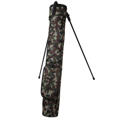 Ram Golf Pitch and Putt Lightweight Golf Carry Bag with Stand - Camo
