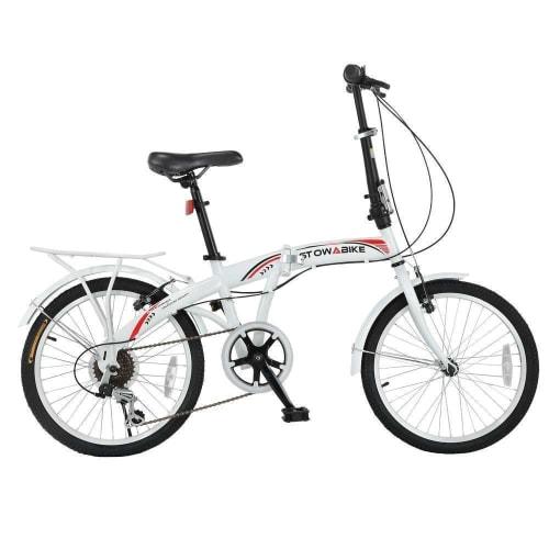 OPEN BOX Stowabike Folding City V3 Compact Bike Red / White