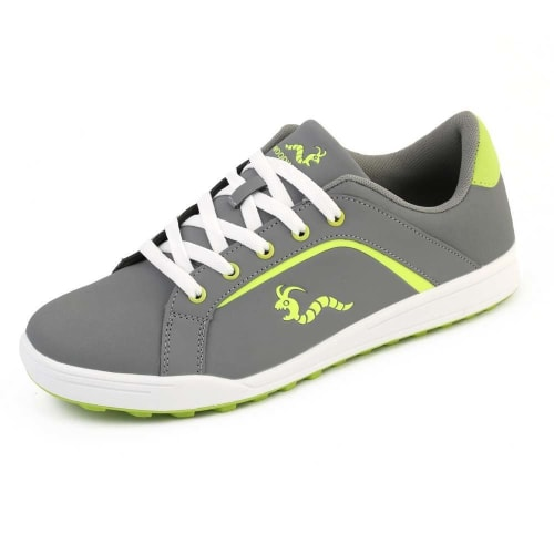 OPEN BOX Woodworm Golf Surge V3 Mens Golf Shoes Grey/Neon