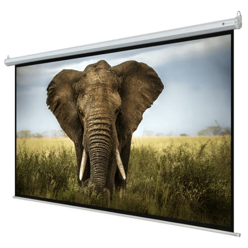 "Homegear 110"" HD Motorized 16:9 Projector Screen"