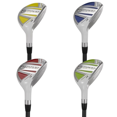 Young Gun ZAAP Junior Kids Golf 21° + 24° Hybrid Set