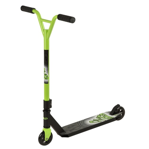 ZAAP 360 Freestyle Stunt Scooter - Black/Green