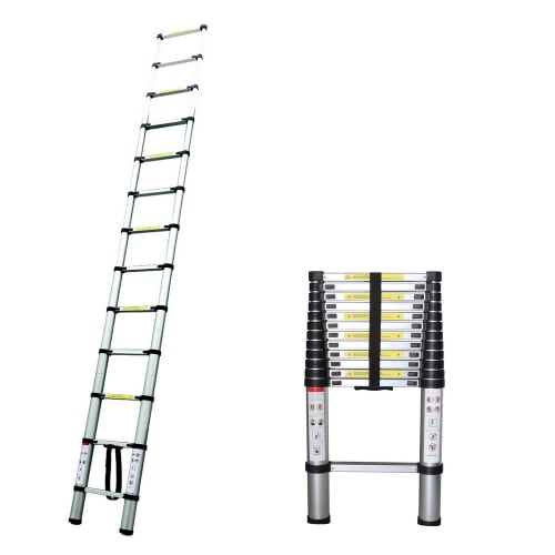 Homegear 12.5ft Telescopic Extension Ladder