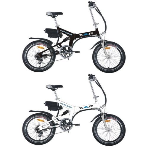 ZAAP CX4 Pro Suspension Foldaway Electric Bike