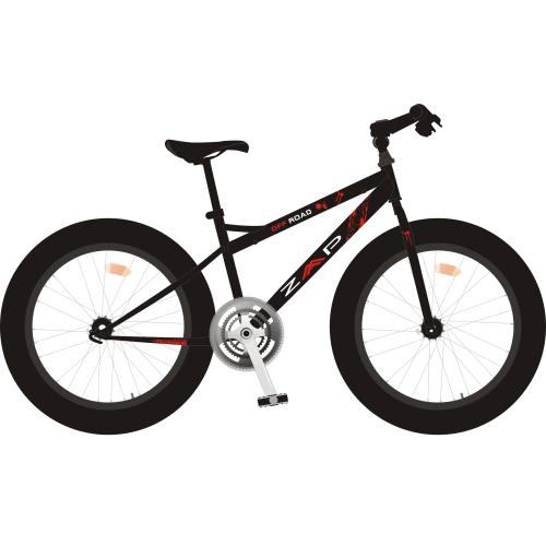 ZAAP Fat Tire Electric Mountain Bike / eBike