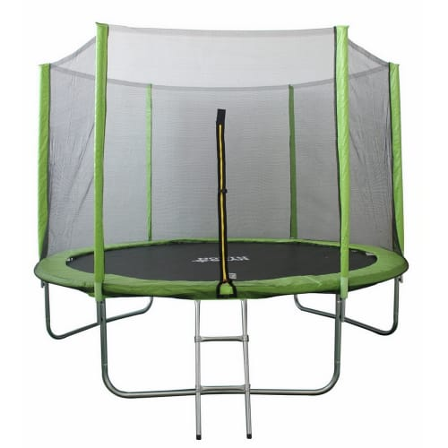 OPEN BOX North Gear 10Ft Trampoline Set w/ Safety Enclosure