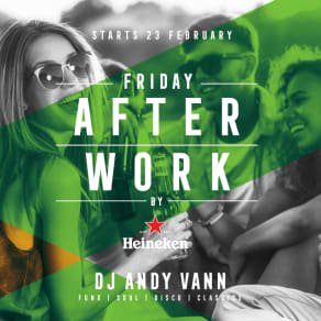 Fridays after work at The Merchant!