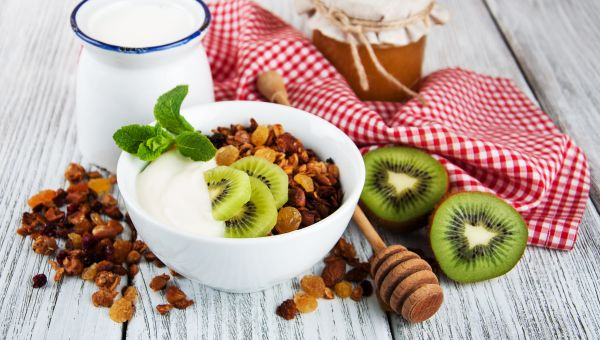 Breakfast: Kiwi