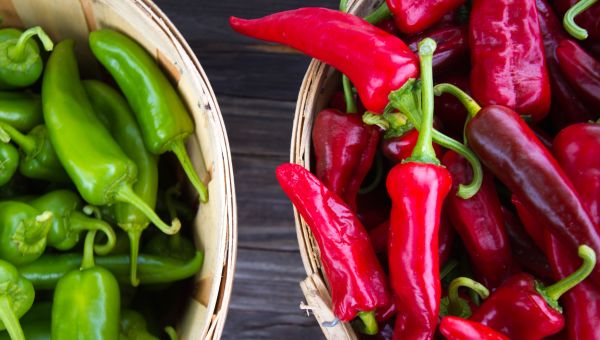 Dinner: Hot Peppers