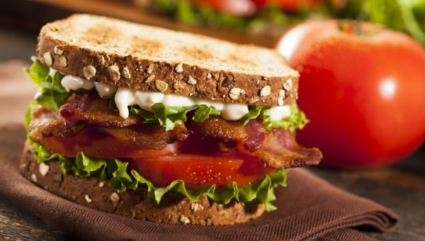 BLT with Rosemary Aioli