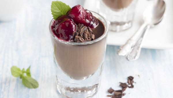 Chocolate Cherry Pudding
