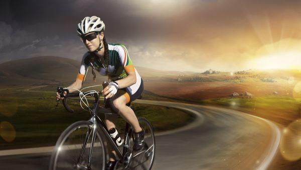 Cycling burns over 1000 calories