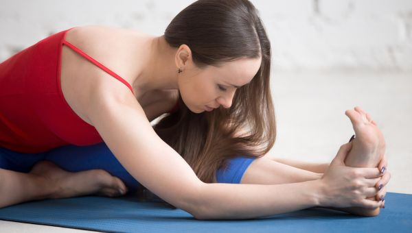 Head-to-Knee Forward Bend (Janu Sirsasana)