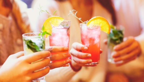 SIP GOOD-FOR-YOU COCKTAILS