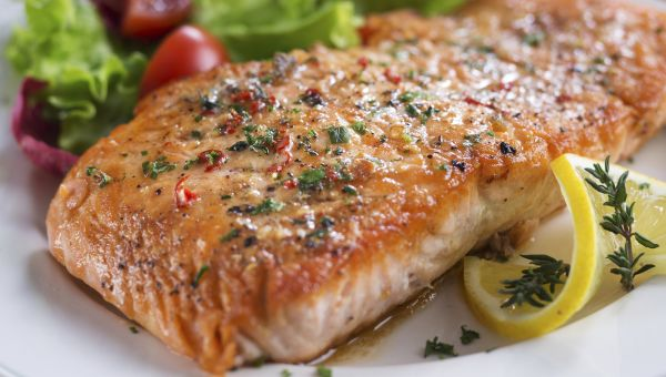 Norwegian-Style Oven Roasted Salmon Recipe