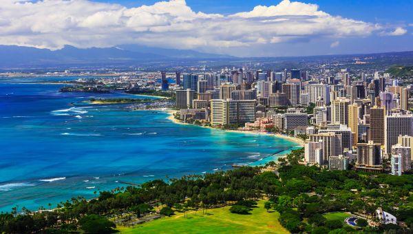 4. Urban Honolulu, Hawaii