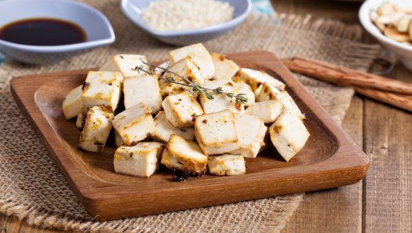 42.  Baked tofu