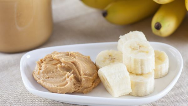 58. Banana and peanut butter