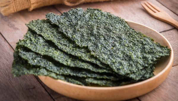 89. Dry seaweed