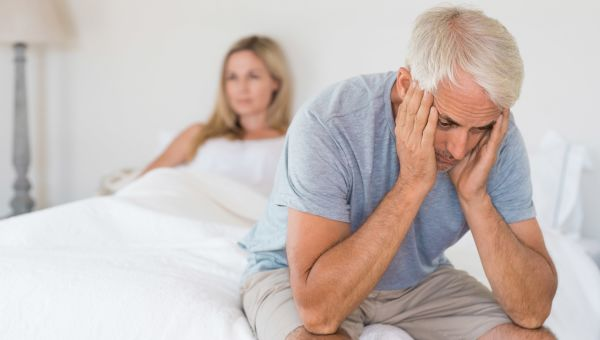 Your risk of erectile dysfunction increases