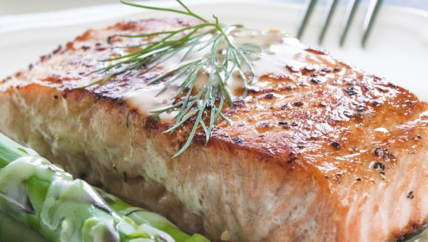 Salmon for Pain Relief